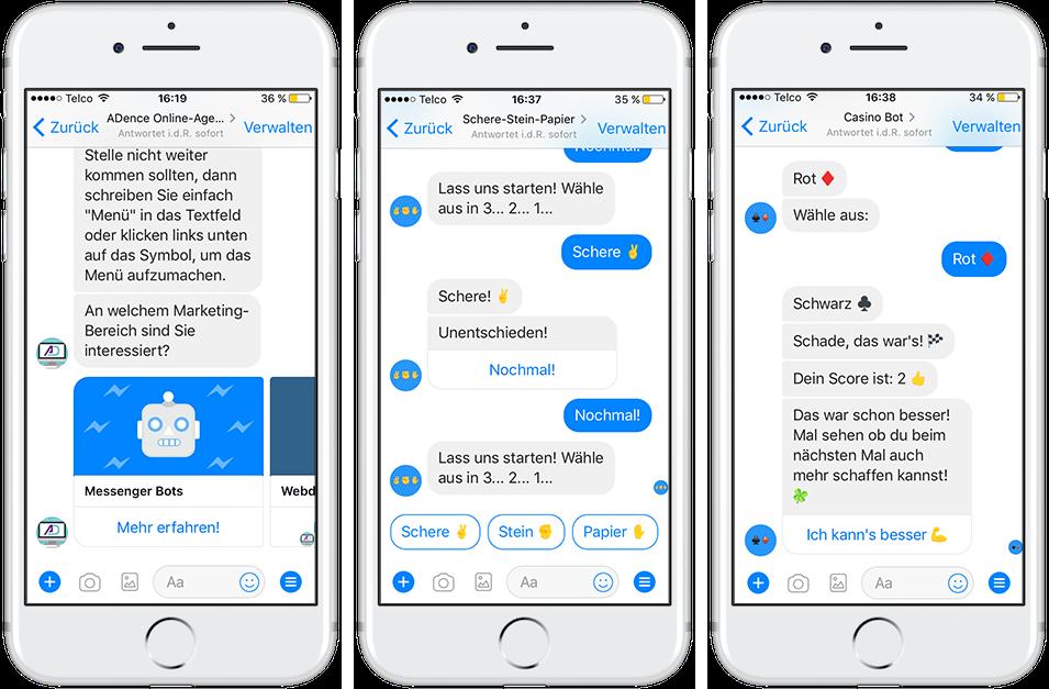 So könnte dein Chatbot aussehen: